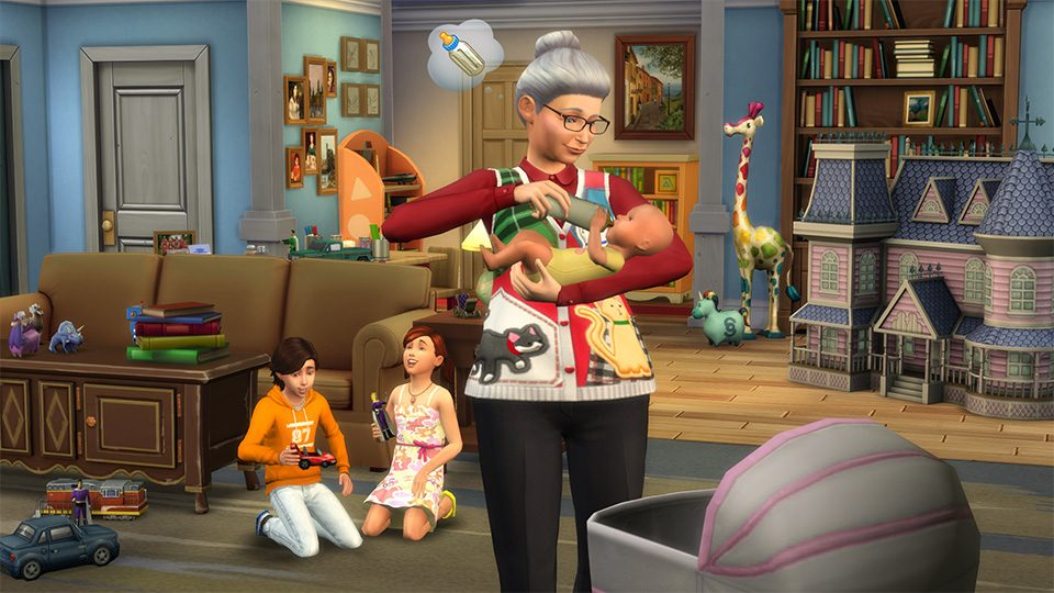 The Sims Babysitter