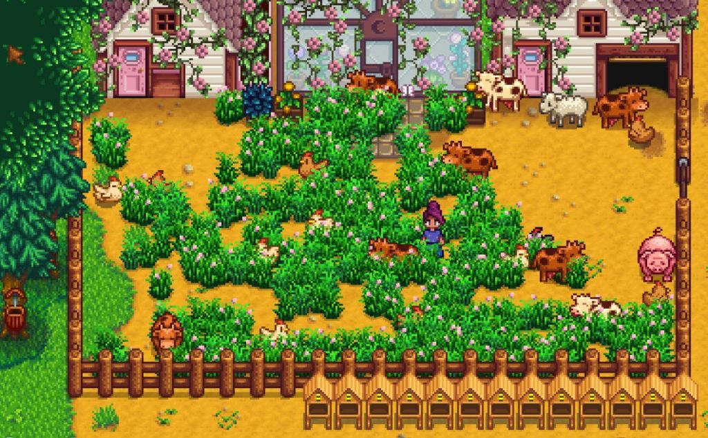 Stardew Valley with mods