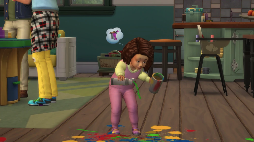 The Sims Toddlers