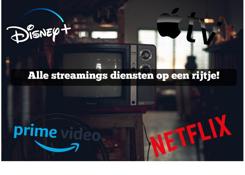 streamings diensten in nederland