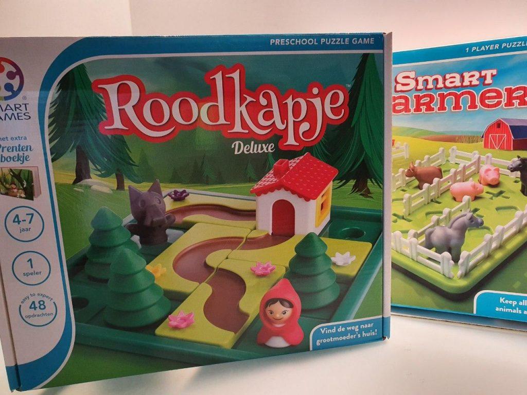 Smartgames, roodkapje, farmer