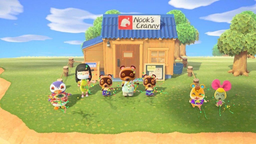 Animal Crossing Switch Nook's Cranny