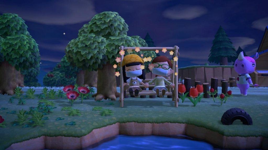 Mondkapje Animal Crossing Switch New Horizons