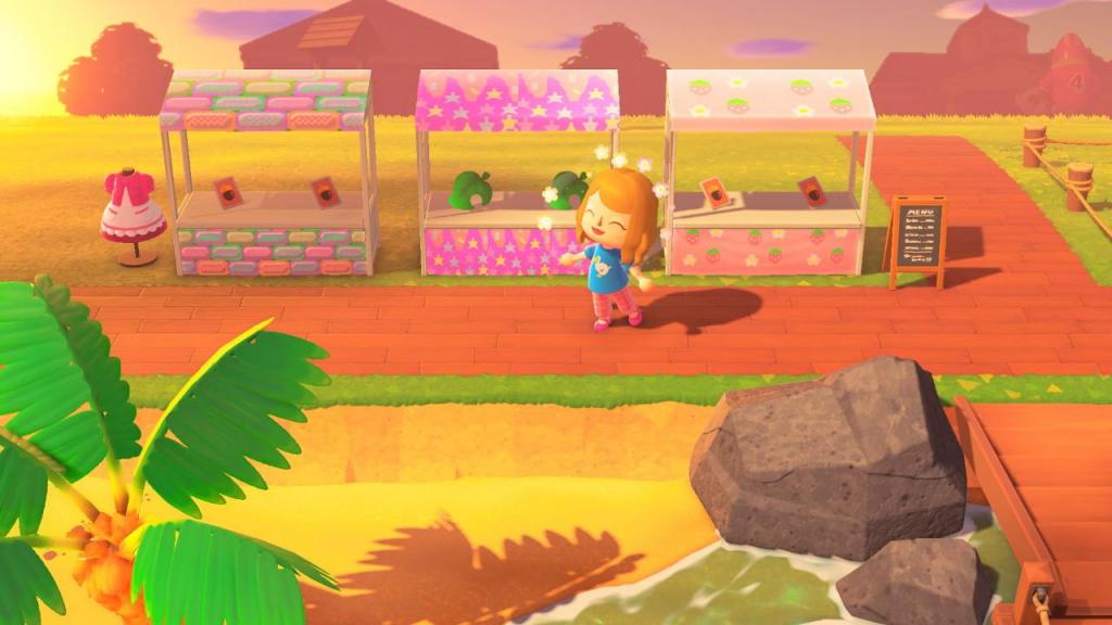 Market stall Animal Crossing