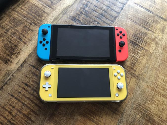 Nintendo Switch and Nintendo Switch Lite difference