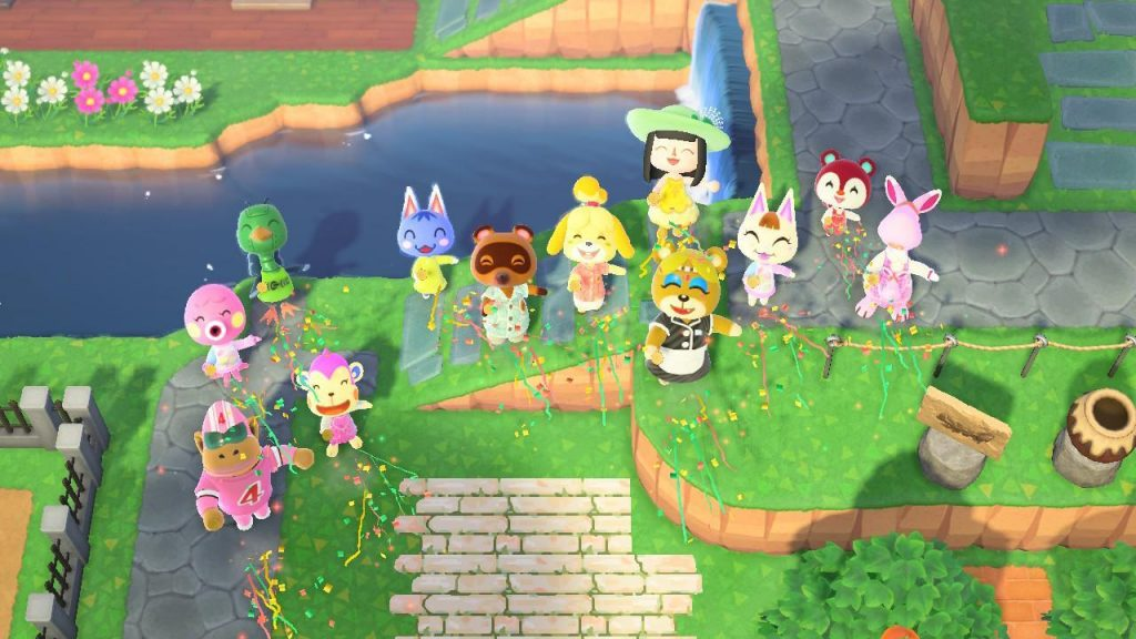 Party pic animal crossing