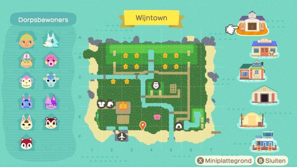 Island Layout Animal Crossing