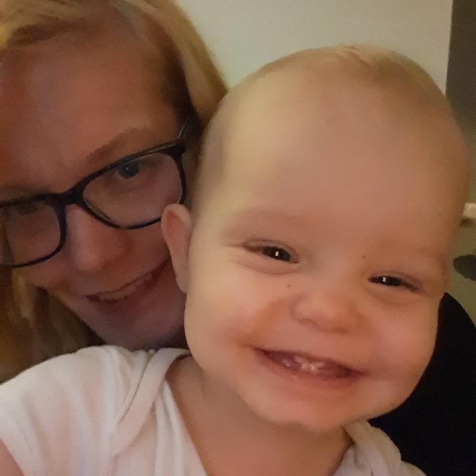 Angela en dochter