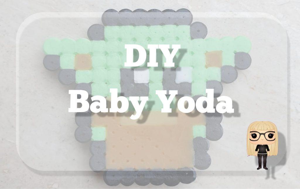 DIY Baby Yoda van strijkkralen voorbeeld